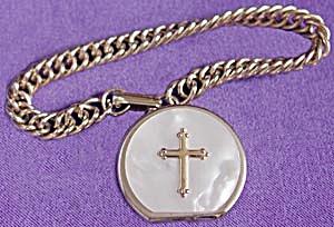 Vintage Rosary Holder Bracelet (Image1)
