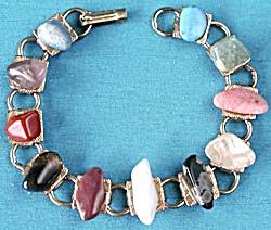 Vintage Polished Stone Bracelet (Image1)