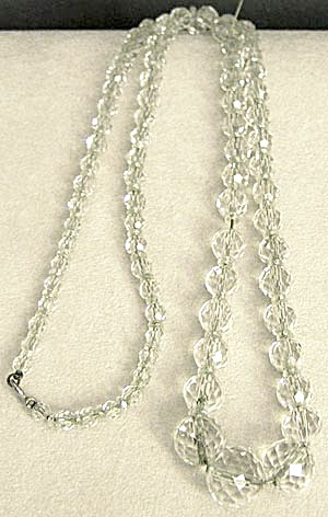 Vintage Cut Crystal Necklace (Image1)