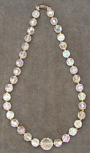 Aurora Borealis Crystal Necklace (Image1)