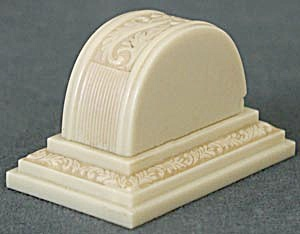 Vintage Art Deco Ivory Ring Box