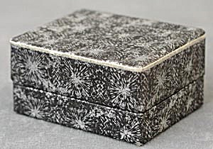 Vintage Black & Silver Jewelry Box (Image1)