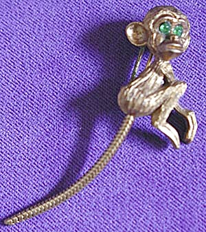 Vintage Monkey Pin (Image1)