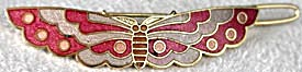 Vintage Butterfly Hair Barrette (Image1)