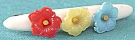 Vintage Flower Barrette (Image1)