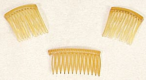Vintage Pair of  Hair Combs (Image1)