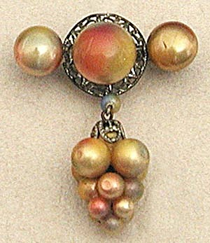 Antique Grape Pin (Image1)