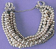 Vintage Marvella 7 Strand Bracelet (Image1)