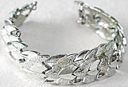 Vintage Coro  Silvertone Bracelet (Image1)