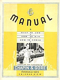 Manual Mixology Bartending (Image1)