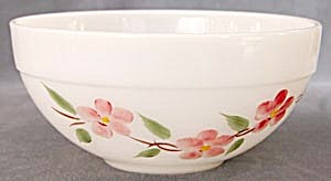 Vintage Fire King Peach Blossom Bowls Set Of 2 (Image1)