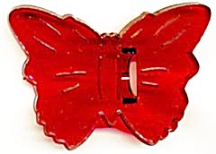 Vintage Butterfly Cookie Cutter With Crown