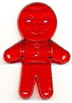 Vintage Gingerbread Boy Cookie Cutter