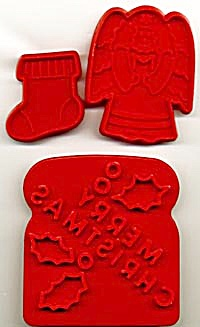 Vintage Christmas Cookie Cutter Mix Set of 3 (Image1)