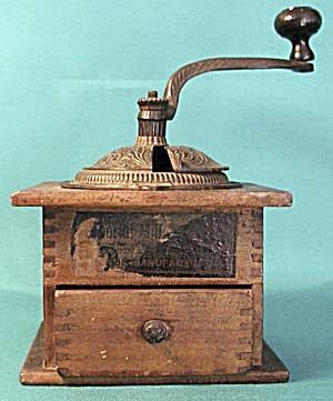 Imperial Arcade Lap Coffee Grinder (Image1)