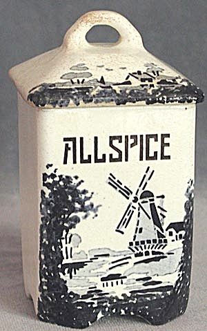 Vintage German Windmill Spice Container Allspice (Image1)