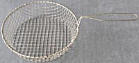 Vintage Metal Fry Basket & Collapsible Basket (Image1)