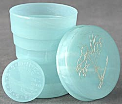 Vintage Collapsible Plastic Travel Cup w/Lid (Image1)