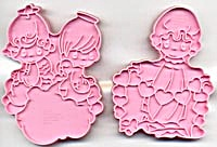 Wilton Set of 3 Precious Moments Cookie Cutters (Image1)