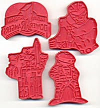 Wilton Power Ranger Cookie Cutters Set of 4 (Image1)