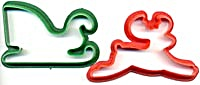 Pair of Christmas Cookie Cutters (Image1)