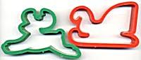 Vintage Sleigh & Deer Cookie Cutter (Image1)