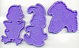 Easter Cookie Cutters Set Of 3