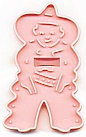 Vintage HRM Pink Cowboy Cookie Cutter (Image1)