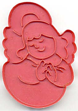 Vintage Wilton Large Sweet Angel Cookie Cutter (Image1)