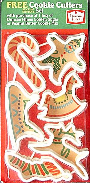 Vintage Duncan Hines Cookie Cutters Original Pkg (Image1)