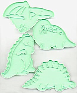 Wilton Large Dinosaur Cookie Cutters Set of 4 (Image1)