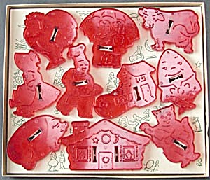 Vintage Mother Goose Cookie Cutters (Image1)