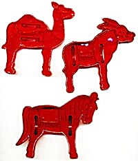 Vintage Circus Animals Cookie Cutters (Image1)