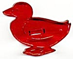 Vintage Duck Cookie Cutter with Crown (Image1)