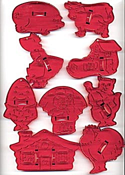Vintage Mother Goose Cookie Cutters