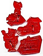 Vintage Mix Cookie Cutters Set Of 4