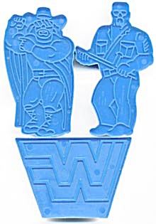 Wilton WWF  World Wrestling Federation Cookie Cutters (Image1)
