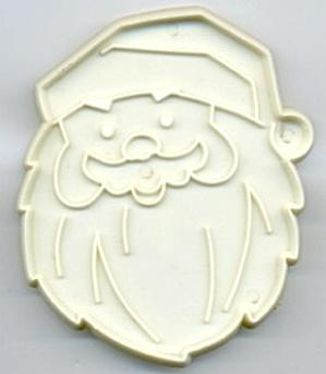 Vintage Santa Face Cookie Cutter (Image1)