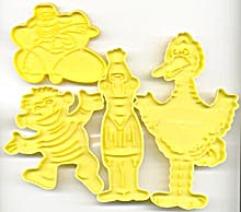 Wilton Sesame Street Cookie Cutter Set (Image1)
