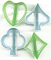 Vintage Card Suit Cookie� Cutters (Image1)