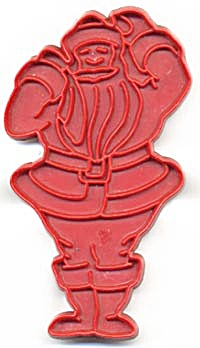 Vintage Tupperware Santa Claus Cookie Cutter