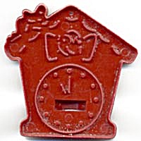 Vintage HRM Hickory Dickory Dock Clock Cookie Cutter (Image1)