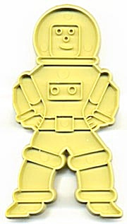 Vintage Stanley Home Products Spaceman  Cookie Cutter (Image1)