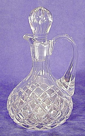 Cut Glass Box Pattern Cruet (Image1)