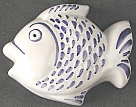 Vintage Ceramic Fish Decorative Mold (Image1)