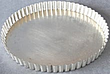 Vintage Fluted French Tart Pan (Image1)