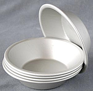 Individual Mirro Aluminum Pie Plates Set Of 5