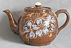 Vintage Price Kensington Blue Flower Teapot (Image1)
