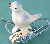 Vintage China Bluebird Teapot Lid Holder (Image1)