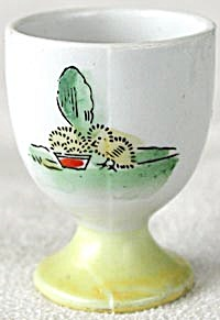 Vintage Chick & Rooster  Egg Cups Set of 2 (Image1)